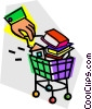 Vector Clipart picture  of a Merchandise
