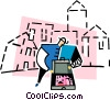 architect Vector Clip Art graphic