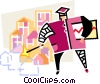 teacher Vector Clipart illustration