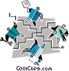 teamwork Vector Clip Art picture