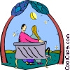 Couples and Romance Vector Clipart picture