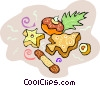 Christmas cookies Vector Clip Art picture