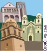 Vector Clip Art image  of a Cusco