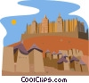 Vector Clip Art picture  of a MALI