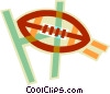 football Vector Clipart picture