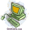 personal computer Vector Clip Art graphic