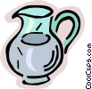 Vector Clipart illustration  of a water jug