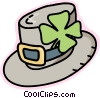 Vector Clip Art graphic  of a St. Patrick's day hat