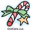 Vector Clip Art picture  of a Candy cane