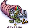 industrial cornucopia Vector Clipart picture