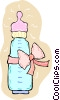 baby bottle Vector Clip Art graphic