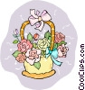 Bouquet of flowers Vector Clipart picture