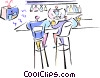 sports bar Vector Clipart picture