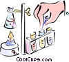 test tubes Vector Clipart picture