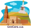 China, Qinghai Province Vector Clipart picture