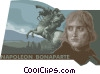 Vector Clip Art graphic  of a Napoleon I Bonaparte 1769 -