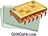 Computer chip Vector Clip Art picture
