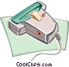 Hand scanner Vector Clipart picture