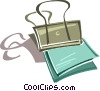 Vector Clipart graphic  of a paper clip