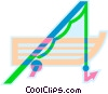 boat and fishing rod Vector Clipart picture