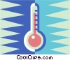 Vector Clipart picture  of a Thermometer