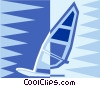 sailboard Vector Clipart picture
