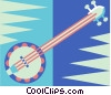 Vector Clipart graphic  of a Banjo
