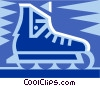 Vector Clipart graphic  of a Roller blades