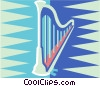 Harp Vector Clipart illustration