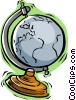 Vector Clip Art picture  of a globe