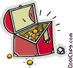 Treasure Chests Vector Clip Art picture