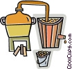 Vector Clipart graphic  of a beer makers