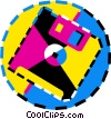 floppy disk Vector Clip Art picture
