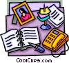 desktop Vector Clipart picture