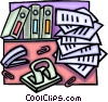 office space Vector Clip Art graphic