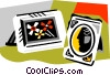 Vector Clip Art image  of a picture frames