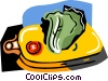 Vector Clip Art graphic  of a salad