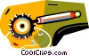 Vector Clipart illustration  of a pastry edger