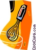 Vector Clipart graphic  of a whisk
