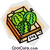 melons Vector Clipart illustration