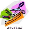 Vector Clipart picture  of a beauty supplies