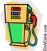 Vector Clipart graphic  of a gas pump
