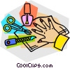 manicure supplies Vector Clip Art graphic