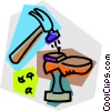 shoe repair Vector Clip Art image