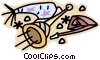Vector Clip Art graphic  of a Party noisemakers