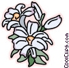 Vector Clip Art picture  of a Flowers