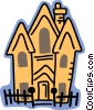haunted house Vector Clip Art picture