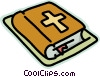 holy bible Vector Clipart picture