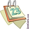 calendar Vector Clipart illustration