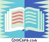school book Vector Clipart picture